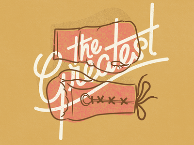 The Greatest vintage doodle illustration calligraphy graphic design font lettering handlettering type typography