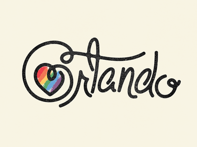 Orlando doodle illustration calligraphy graphic design font lettering handlettering type typography