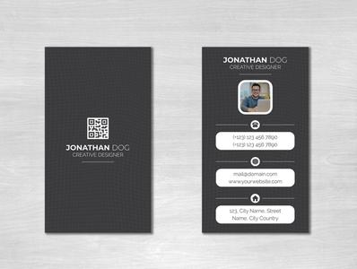 Business card designe