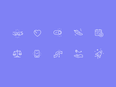 liney icons
