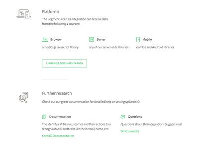 Let's get technical minimalist clean details documentation website web icons technical