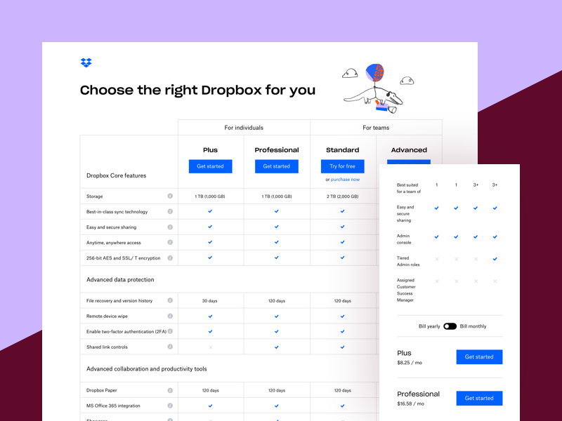 Dropbox Design | Dribbble