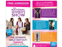 The National Women's Show - Flyer