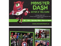 Monster Dash - Flyer