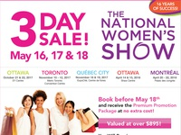 National Womens Show - E-mail Marketing