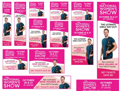 The National Women's Show - Digital Google Ads