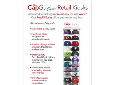 TheCapGuys.com - Retail Kiosks -  Poster