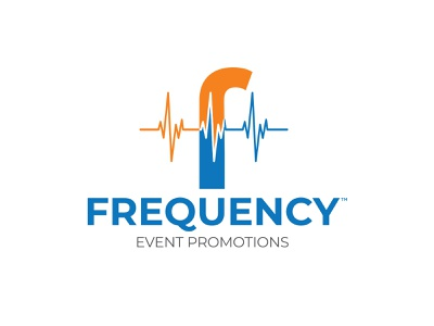 Frequency Event Promotions - Logo corporate brand identity lettering typography vector illustration identity logo graphic design branding design