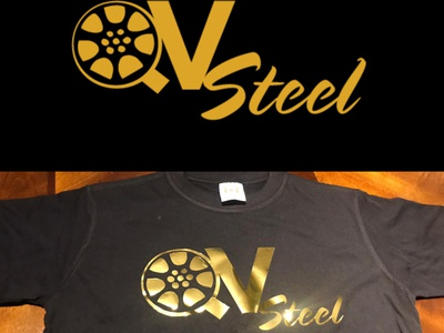 QV Steel - Logo type illustrator corporate brand identity stationery print illustration identity logo branding graphic design design