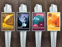 Icicle Brewing Seasonal Tap Handles