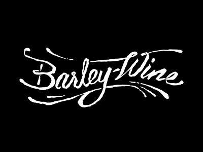 Barleywine Script script wine typography hand lettering