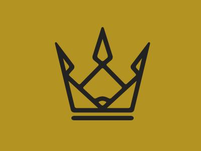 Baseball Crown Logo baseball crown