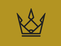 Baseball Crown Logo