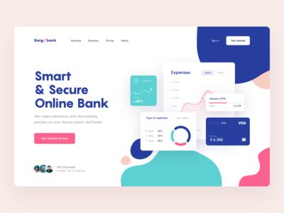 Online Bank — Concept