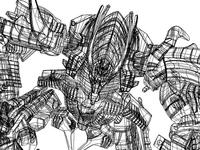 Adobe illustrator-Grid lines-Transformers