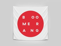 Boomerang flag