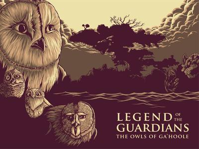 Legend Of The Guardians Fan Art Poster
