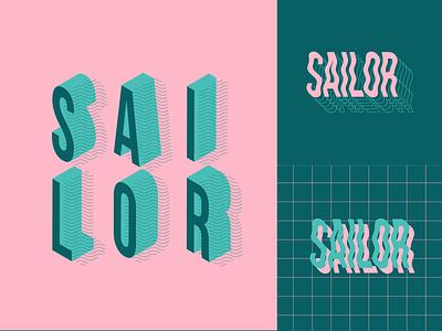 Sailor typography