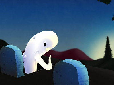 Sunset video music graveyard animal animation sunset whale