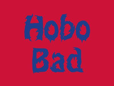 Hobo Bad type design font design typeface type font hobo death africa metal
