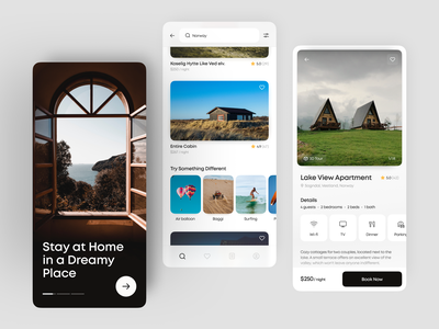 App Concept For An Accommodation Complex rental rental app house hotel booking booking booking app hotel app hotel reservations room condominium accommodation app design app ux user interface ui interface design apartment