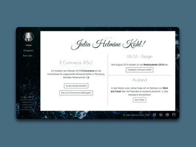 one more personal website...