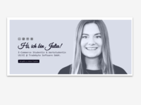 Personal site - header
