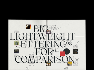 Zine II font page spread serif typogaphy type print broshure lettering editorial design layout design layout magazine editorial zine