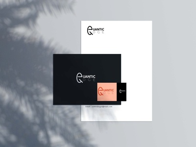 Quantic Edge Stationery Mockup Design