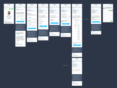 Pay Later Experiment - User flow (mobile) mobile timewith mental health app experiment