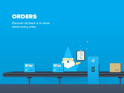 Orders Illustration