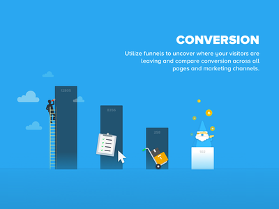 Conversion Funnel Illustration