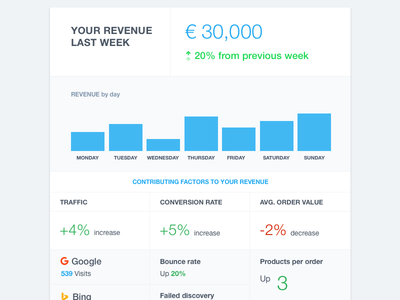 Email Ecommerce Report