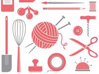 DIY icons