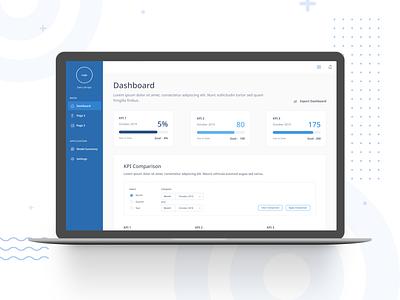 Customer Churn Visualization Dashboard fintech app ui design