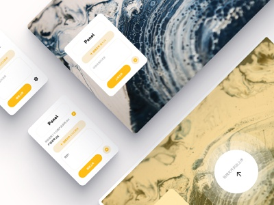 Download and share web app download website web ux card white minimal