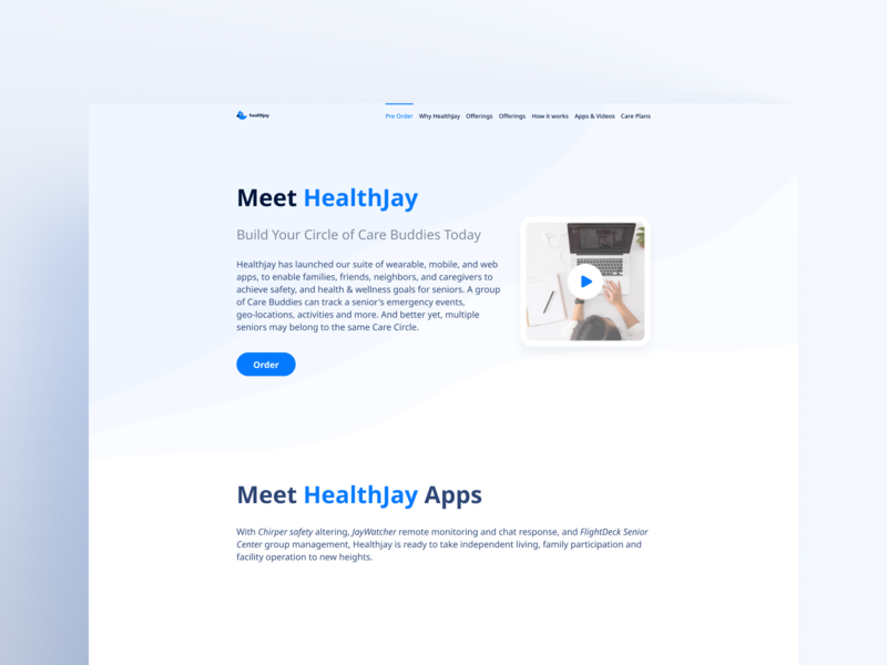 Web Design grey blue web card minimal app white