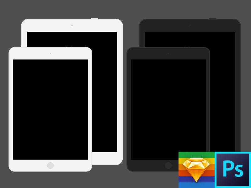 Sketch ipad template.