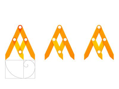 Fibonacci tool icon