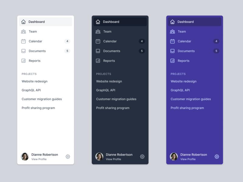 Sidebar navigation sidebar menu tailwind tailwindcss icons navigation sidebar