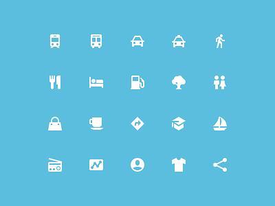 Zondicons update geometric pixel perfect 20px zondicons icons location travel