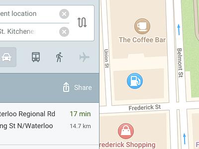 Zondicons Showcase Map zondicons location travel icons ui map