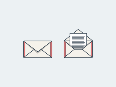 You've got mail message envelope open mail mail icon set icons