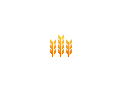 Homestead homestead wheat mark logo