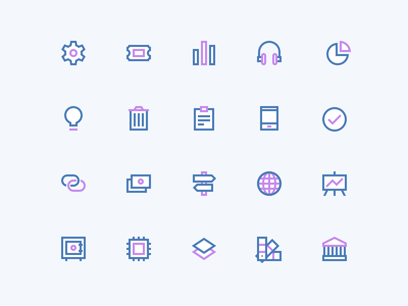 Icons responsive svg icon set icons