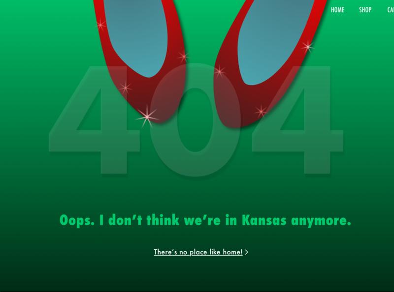 Daily UI 8  - 404 Page userinterface branding web dailyui ui design