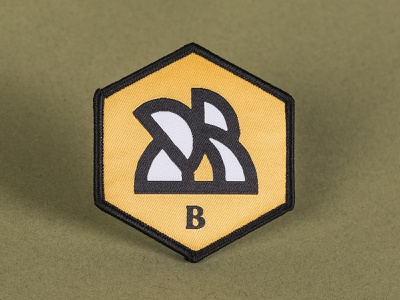 Bumble Bee Plumbing Badge Patch graphic design recoleta bumble bee logo design apparel logo buzz bee honeycomb brand design branding design patch design patches patch apparel blue collar