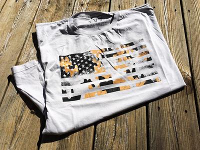 Camo Flag Shirt