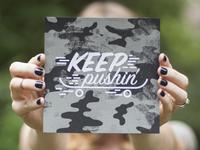 Keep Pushin' Adoption Print