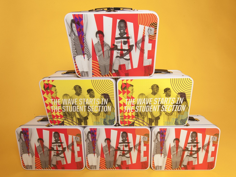 Wave Conference Lunchbox typography book packaging print lunchbox patterns branding conference jesus newspring church